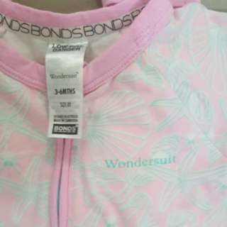 Bonds SS Wondersuit 3-6m