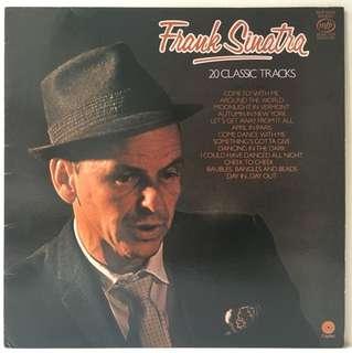 Frank Sinatra – 20 Classic Tracks (1981 UK Pressing - Vinyl is Mint)