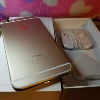 Iphone6 plus 64gb 大金色
