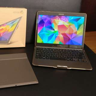 """99% New Samsung Tab S 10.5"""" with Micro 64gb SD card and Accessories"""