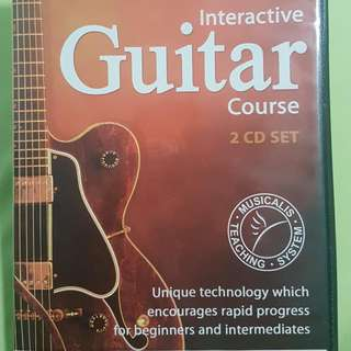 2 CD Interactive Guitar Course