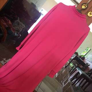 Baju terusan abaya daleman dress
