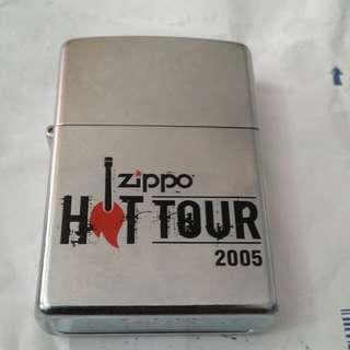 Zippo Lighter HOT TOUR 2005