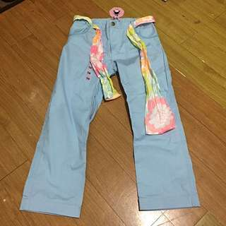 Baby blue pants for 11-13