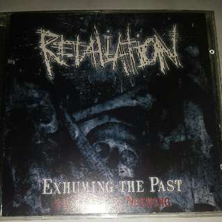 Music CD (Metal): Retaliation ‎– Exhuming The Past - 14 Years Of Nothing - Swedish Grindcore Band