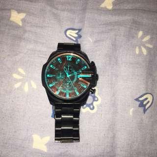 Diesel Chi Chronograph Black Dial  -DZ4318