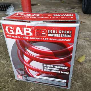 Hyundai Getz GAB Cool Sport Lowered Spring