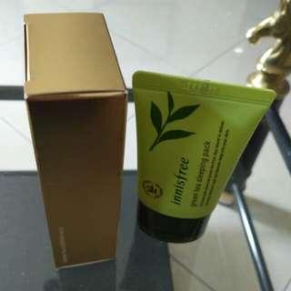 Green tea Sleeping Pack Innisfree