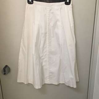 Phillip lim 3.1 white skirt