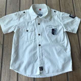 White shirt for 6 years old boy