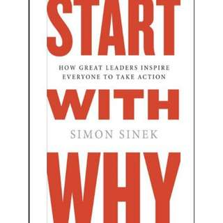 [e-book] Start With Why by Simon Sinek