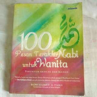 100 pesan terakhir nabi Muhhamad untuk wanita