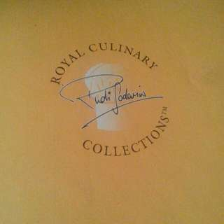 Culinary international cookbook