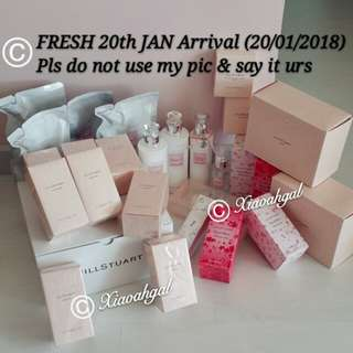 🛍🎁MONTHLY FRESH ARRIVAL: 20/1/2018🛍🎁 Jill Stuart JANUARY monthly supplies - Limited edition Loose Blusher etc! (FRESH AUTHENTIC Latest Manufactured Date =BEST EFFECT) ❤Xiaoahgal using JS Products, replenished Monthly❤ No Pet No Smoker Clean Hse