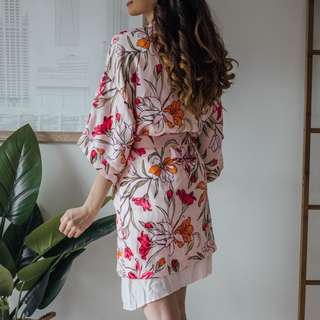 Cotton On - Body Pink Pastel Gown ✧ Tara Milk Tea