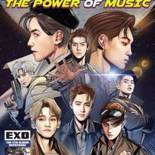EXO - THE POWER OF MUSIC REPACKAGED