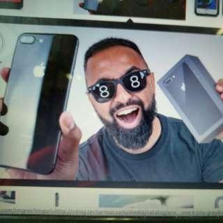 IPhone 8 Plus 64Gb Grey Resmi Ibox Bisa Kredit Tanpa CC