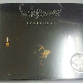 Music CD (Sealed, Doom Metal): Witchsorrow ‎– God Curse Us