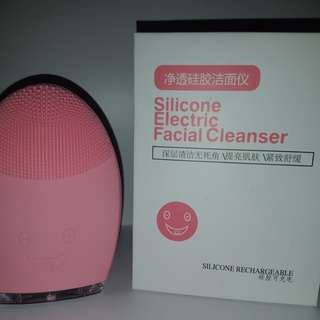 Electric Silicone Facial Cleanser