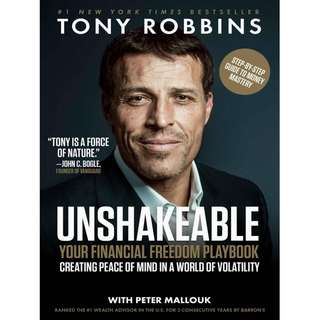 [e-book] Unshakeable by Tony Robbins