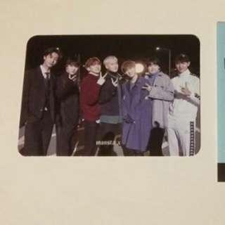 Monsta X The Code Group photocard kpop