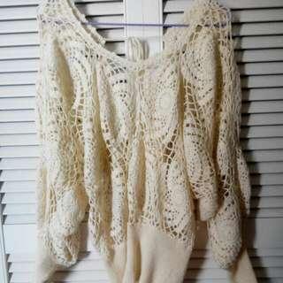 日本手抅羊毛線衫