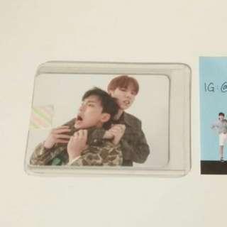 Monsta X Kihyun Shownu unit photocard kpop