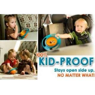 [Non Spill Bowl] Universal Gyro Bowl ♥360 Degree Technology♥ Spill-Proof for Baby Kids Infants Child Children Boys Girls Young Toddler♥