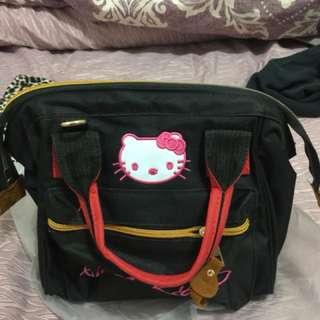 休閒Kitty包、附背帶 可手提側背