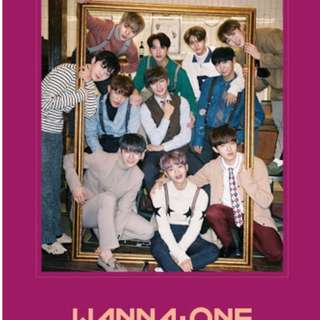 Wanna One - Nothing Without You Album