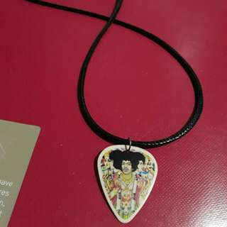 Jimmy Hendrix (GUITAR PICK) necklace