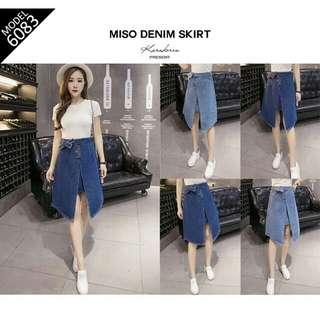 Miso Denim Skirt