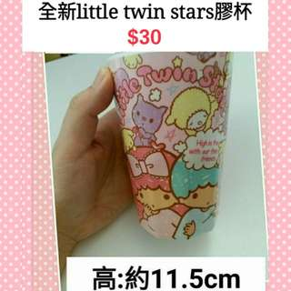 全新little twin stars 膠杯