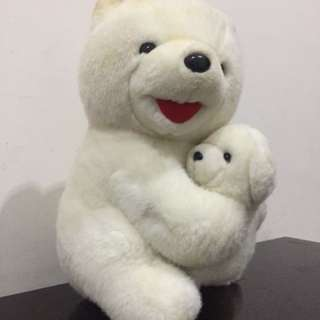 Boneka white bear