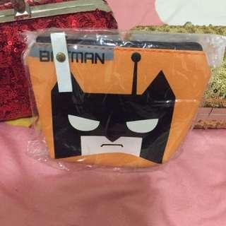 全新-蝙蝠俠造型零錢包
