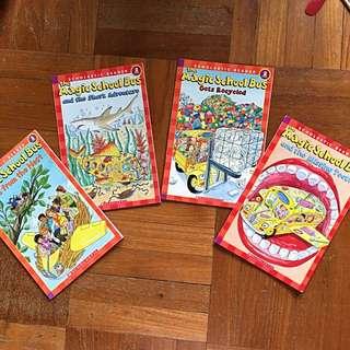 """Level 2 Scholastic Reader """"The Magic Schoolbus"""""""