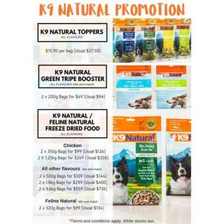 K9 Natural Freeze Dried [PROMO]