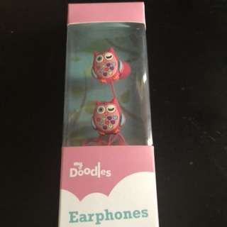 myDoodles earphones