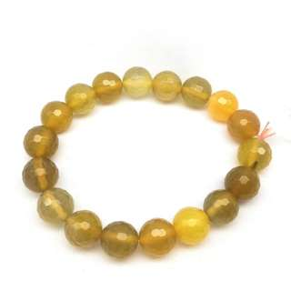 Bracelet Yellow Calcite