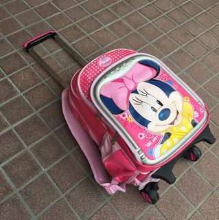 Disney Minnie Mouse Travel / School Cabin Trolley Bag