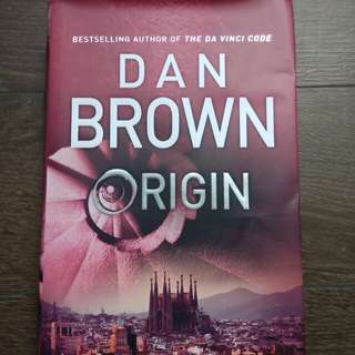 Origin - Dan Brown (Hard cover)