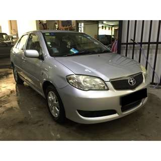 26/01-29/01 TOYOTA VIOS ONLY $180.00 (P PLATE WELCOME)