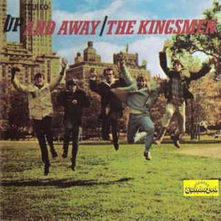 The Kingsmen ‎Up And Away cd