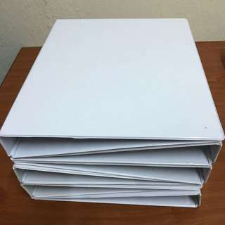 White files (6 pieces selling for $12)
