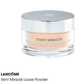 # New Sealed Box # LANCÔME Teint Miracle Loose Powder #2