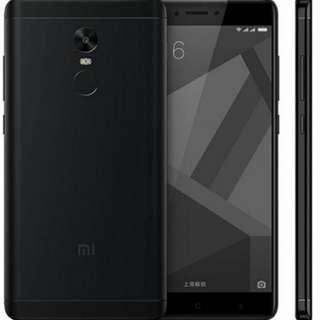 Xiaomi Redmi Note 4X , 64GB, black小米紅米手機(拒議價)