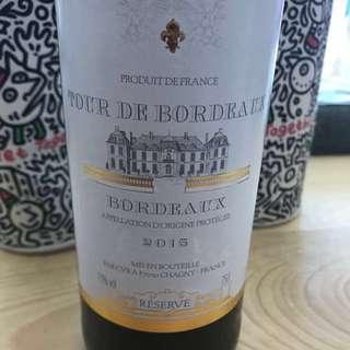 法國紅酒-波爾多 2015年