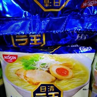 現貨,日清拉王拉麵海鹽口味,97克*5包,