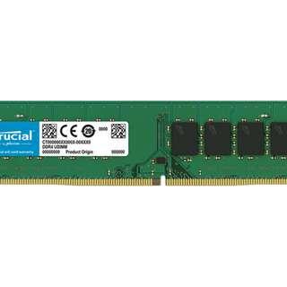 Crucial 8GB RAM DDR4