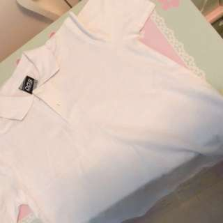 🍡DOS White T-shirt (in new condition)